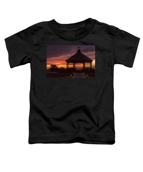Sunset Gazebo Lavallette New Jersey Toddler T-Shirt
