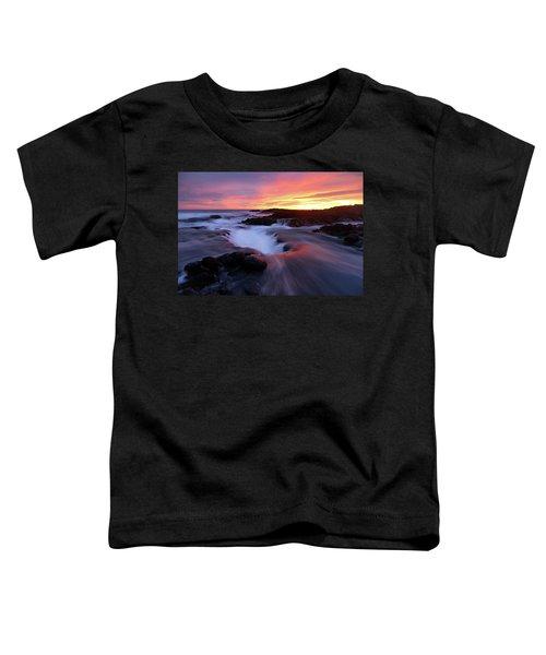 Sunset Glow Toddler T-Shirt