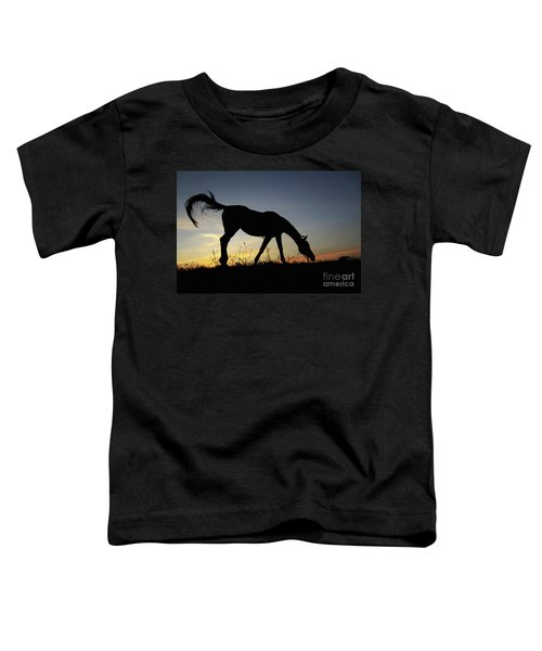 Sunset Horse Toddler T-Shirt