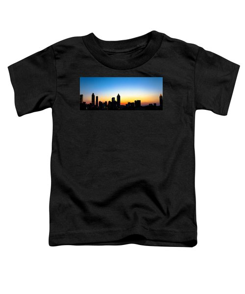 Sunset In Atlaanta Toddler T-Shirt