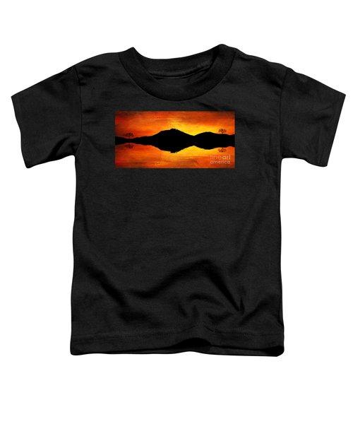 Sunset Island Toddler T-Shirt
