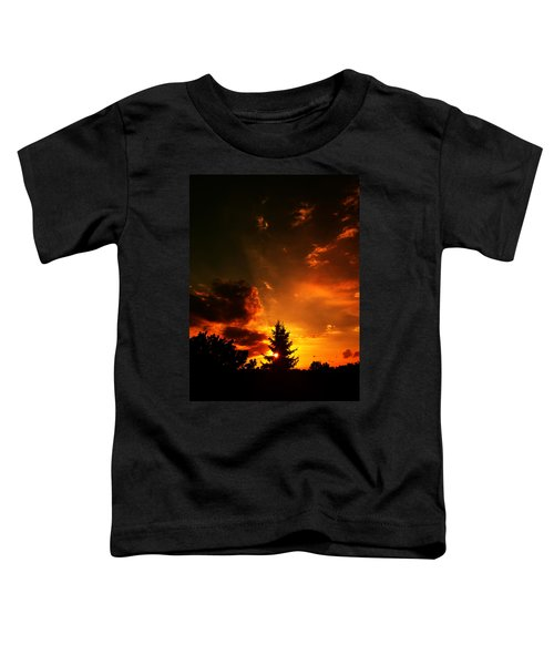 Sunset Madness Toddler T-Shirt