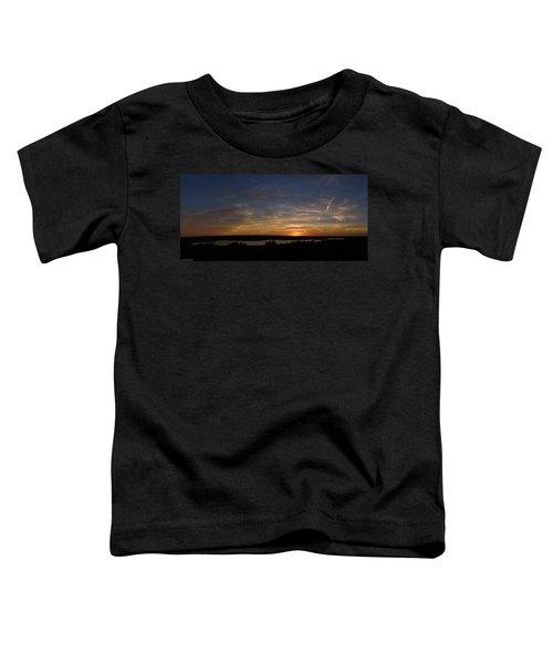 Sunset On Lake Georgetown Toddler T-Shirt