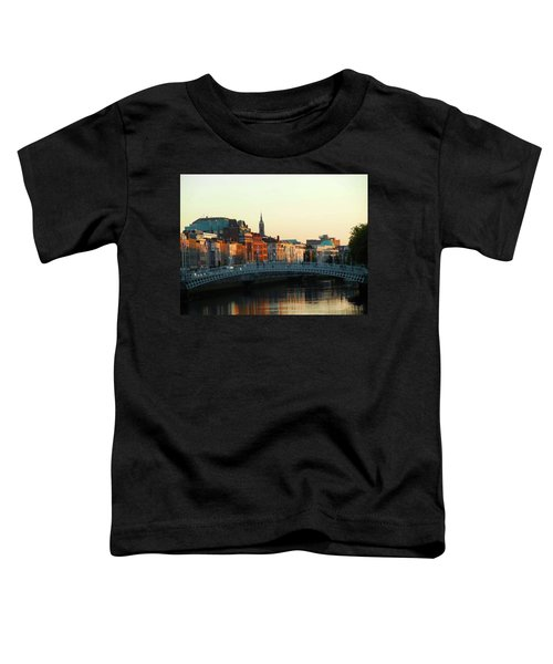 Sunset On The Ha'penny Toddler T-Shirt