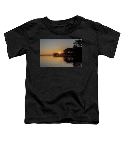 Sunset On The Lake Toddler T-Shirt