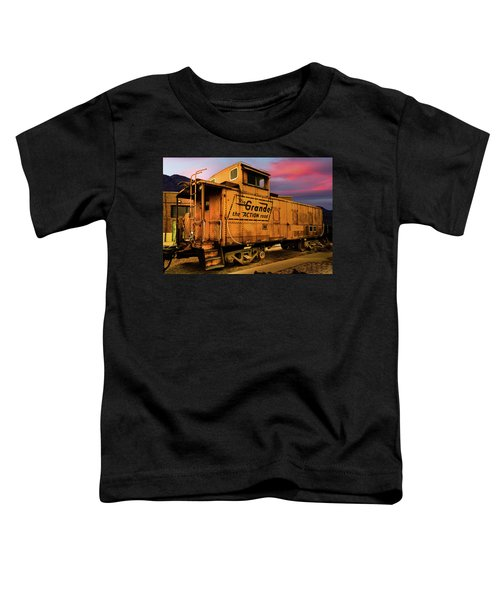 Sunset On The Rio Grande Toddler T-Shirt