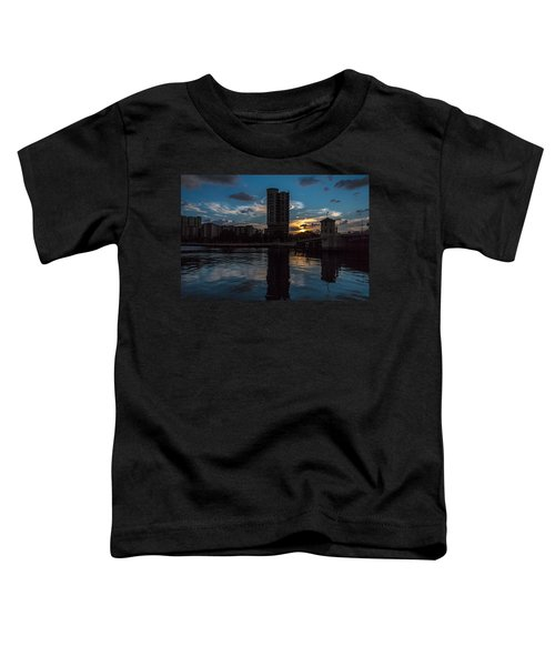 Sunset On The Water Toddler T-Shirt