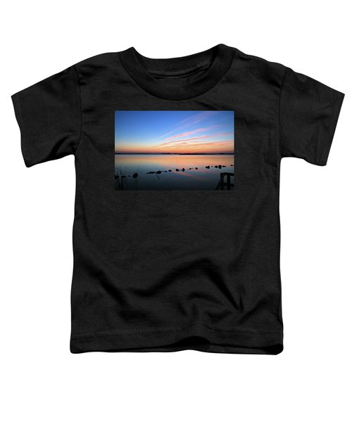 Sunset Over Back Bay National Wildlife Refuge Toddler T-Shirt