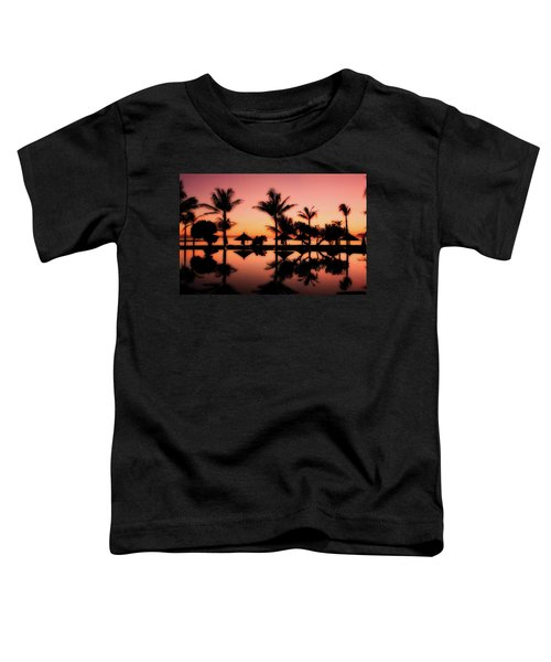 Sunset Over Bali Toddler T-Shirt