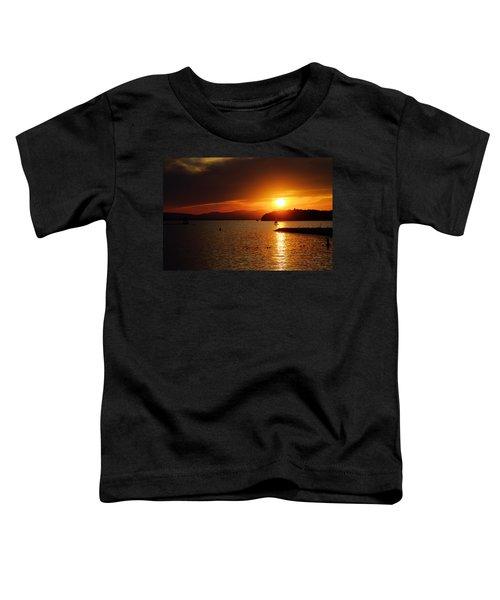Sunset Over Lake Champlain Toddler T-Shirt