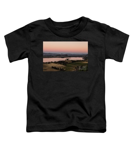 Sunset Over Lake Wanaka In New Zealand Toddler T-Shirt