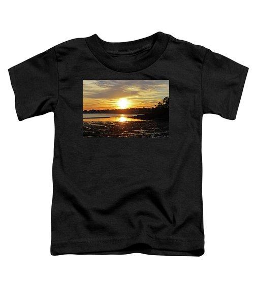 Sunset Over Lynch Park Beverly Ma Toddler T-Shirt