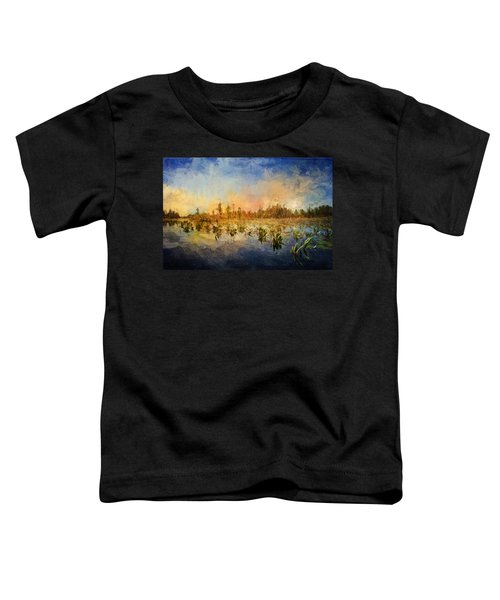 Sunset Over The Okefenokee Toddler T-Shirt