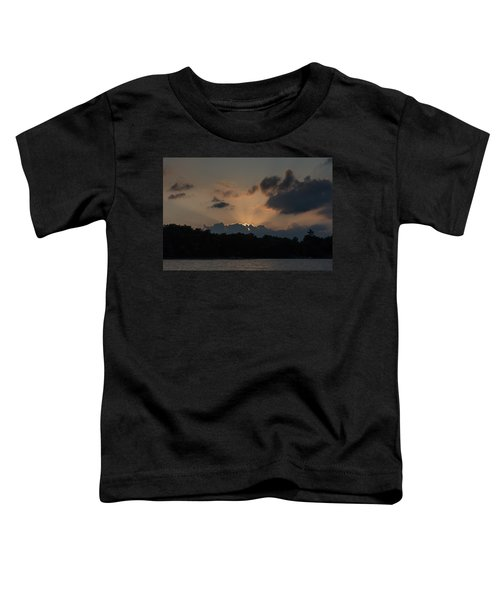 Sunset Over Wilderness Point Toddler T-Shirt