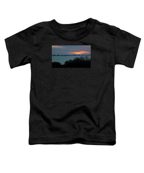 Sunset Sail On Sarasota Bay Toddler T-Shirt