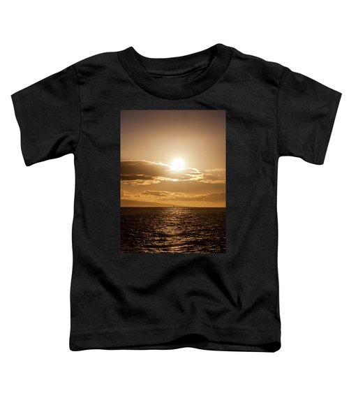Sunset Sailboat Toddler T-Shirt
