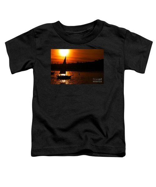 Sunset Sailing Toddler T-Shirt