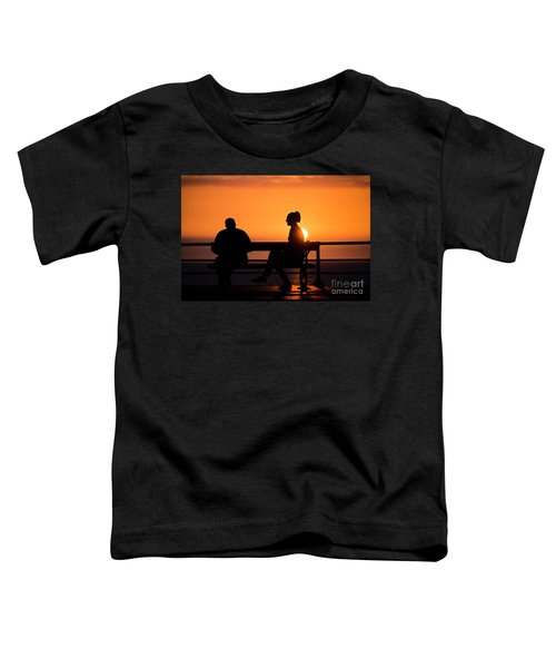 Sunset Silhouettes Toddler T-Shirt