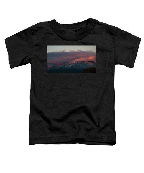 Sunset Storm On The Sangre De Cristos Toddler T-Shirt