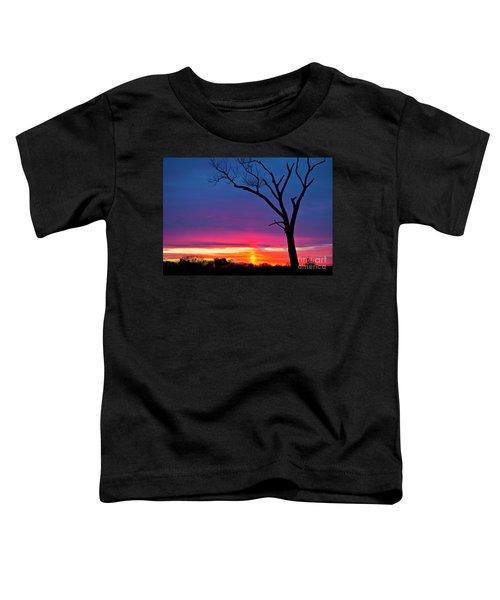 Sunset Sundog  Toddler T-Shirt by Ricky L Jones