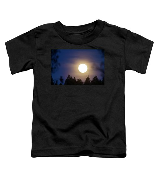 Super Full Moon Toddler T-Shirt
