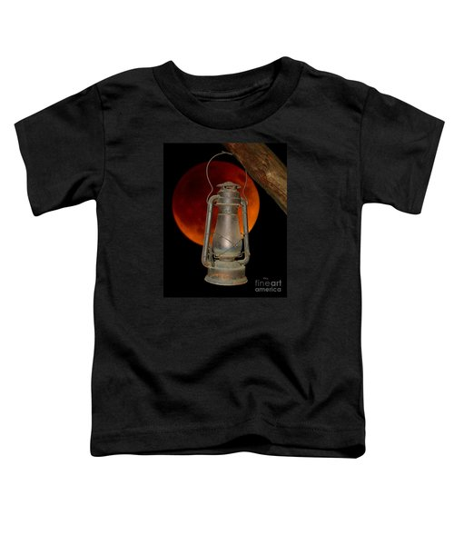 Eerie Light Of An Eclipsed Super-moon Toddler T-Shirt