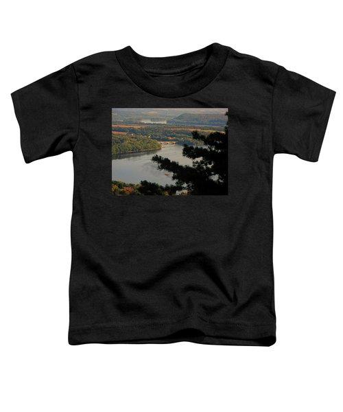 Susquehanna River Below Toddler T-Shirt