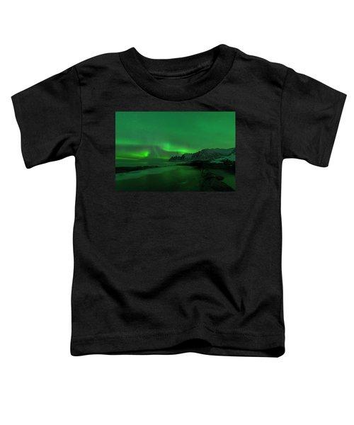 Swirling Skies And Seas Toddler T-Shirt