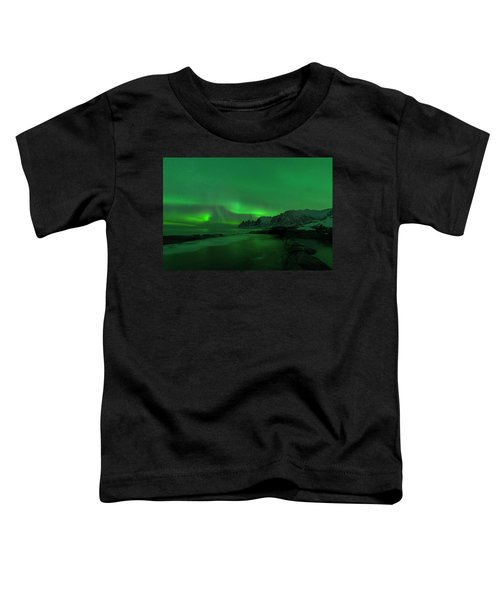 Swirling Skies And Seas Toddler T-Shirt