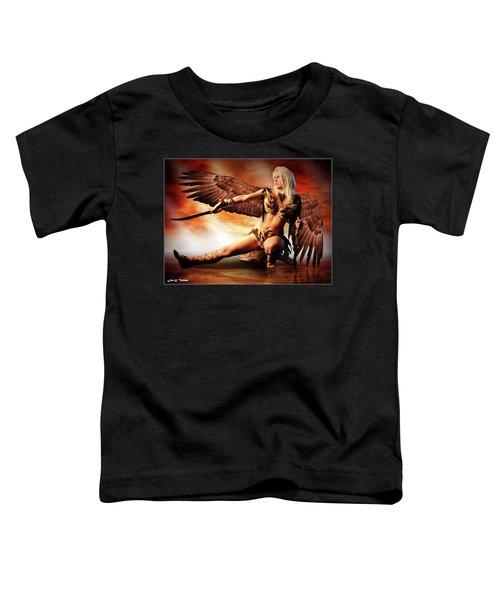 Swords Of The Hawk Woman Toddler T-Shirt