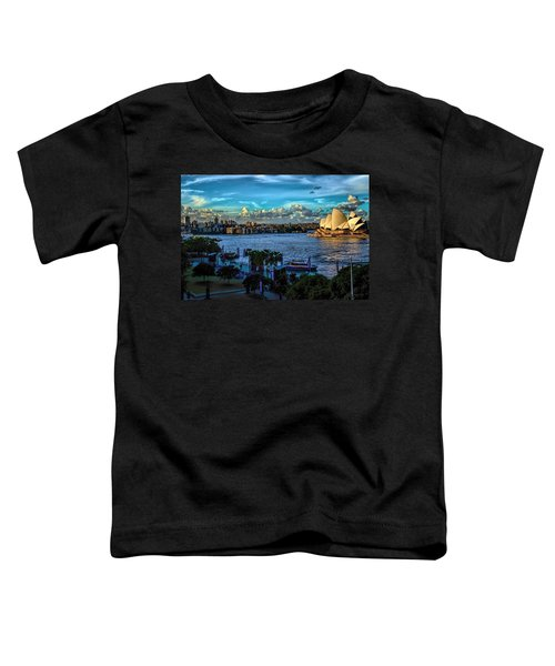 Sydney Harbor And Opera House Toddler T-Shirt