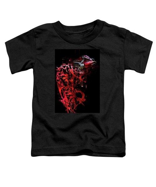 T Shirt Deconstruct Red Cadillac Toddler T-Shirt