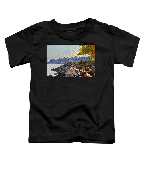 Tacoma In The Fall Toddler T-Shirt