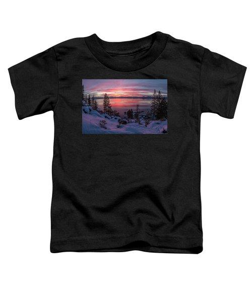 Tahhhhhoe Sunset Toddler T-Shirt