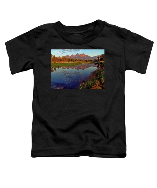 Teton Wildflowers Toddler T-Shirt