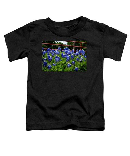 Texas Bluebonnets In Ennis Toddler T-Shirt