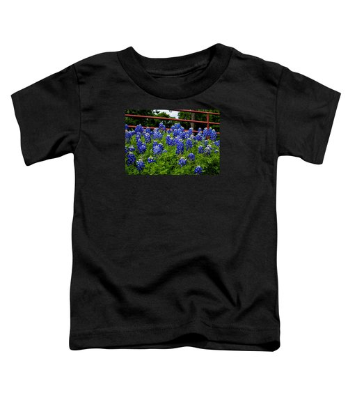 Texas Bluebonnets In Ennis Toddler T-Shirt