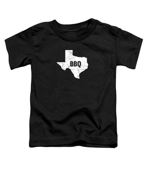 Texas Born Bbq Barbecue Gift Toddler T-Shirt