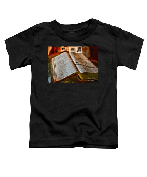 The Accountant's Ledger Toddler T-Shirt