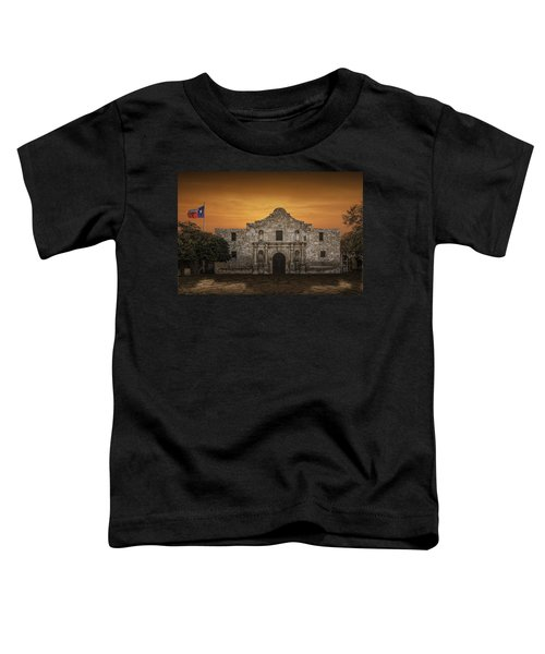 The Alamo Mission In San Antonio Toddler T-Shirt