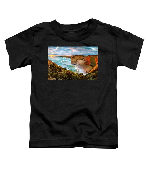 The Apostles Sunset Toddler T-Shirt