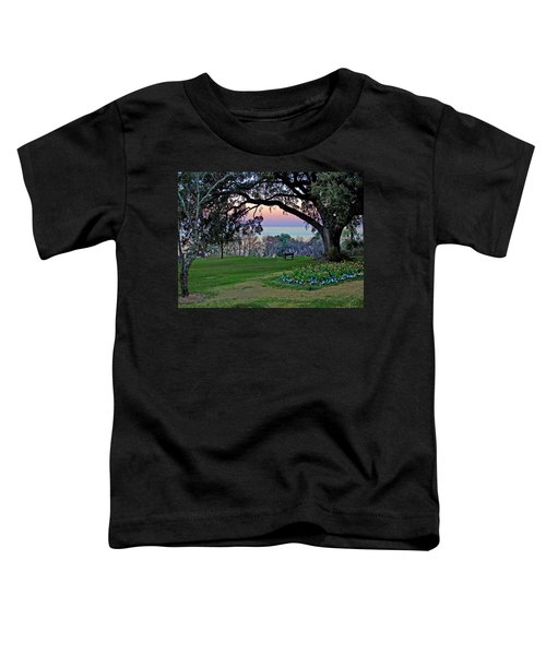 The Bay View Bench Toddler T-Shirt