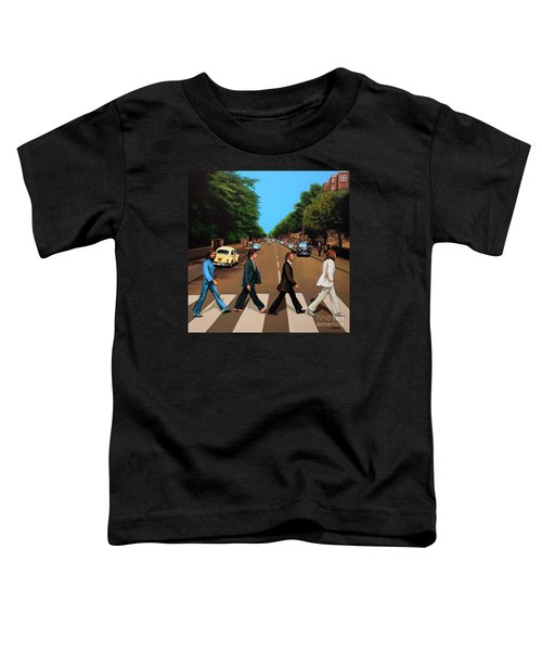 The Beatles Abbey Road Toddler T-Shirt