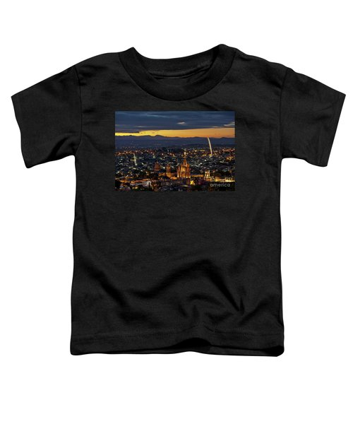 The Beautiful Spanish Colonial City Of San Miguel De Allende, Mexico Toddler T-Shirt