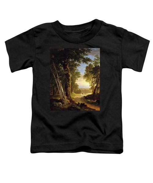 The Beeches By Asher Brown Durand Toddler T-Shirt