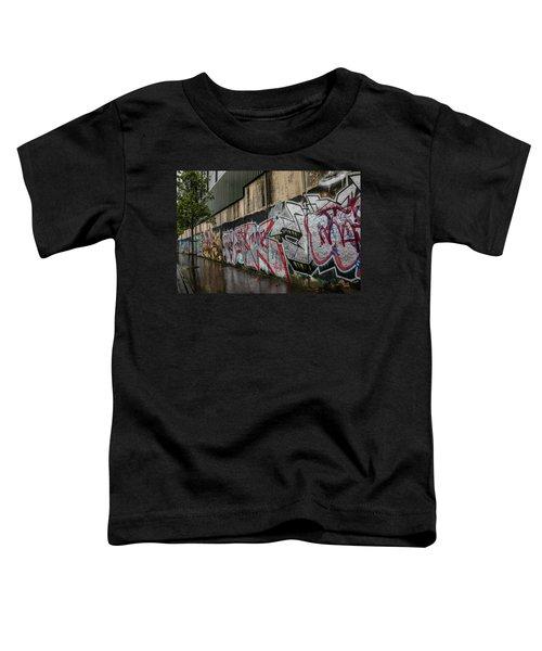 The Belfast Peace Wall Toddler T-Shirt