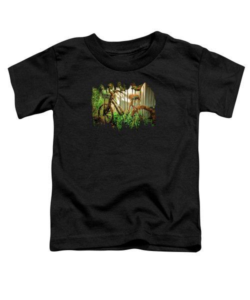The Lonely Bicycle Toddler T-Shirt