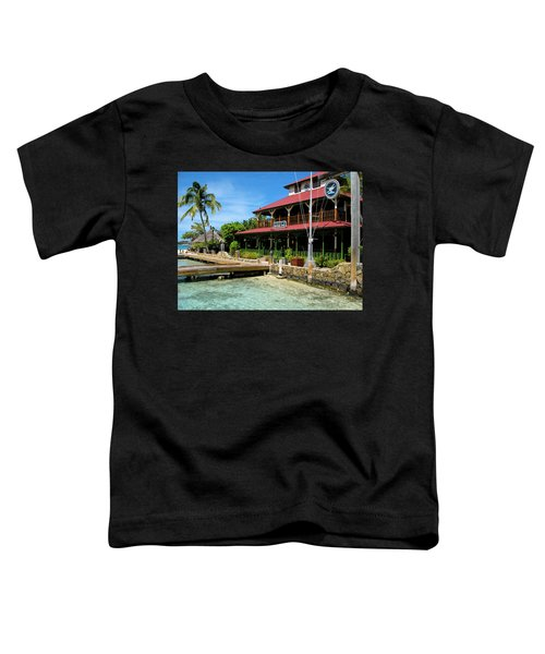 Toddler T-Shirt featuring the photograph The Bitter End Yacht Club by Adam Romanowicz