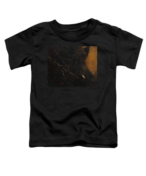 The Black Wildboar Toddler T-Shirt