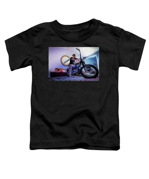 The Boss- Toddler T-Shirt